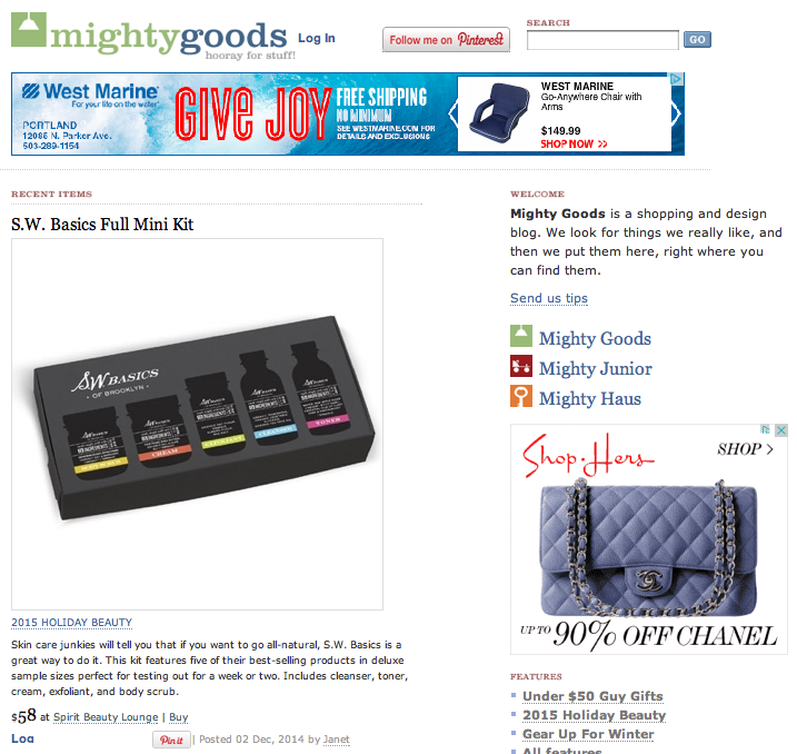 top shopping blogs mighty goods