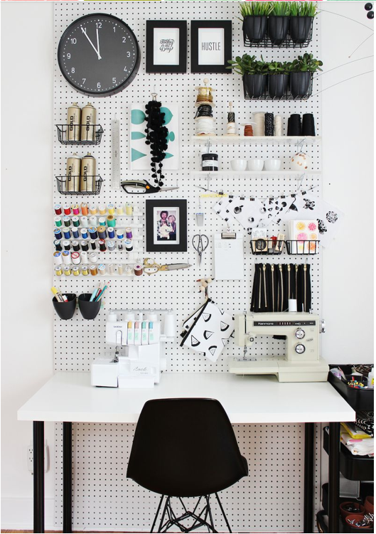 monday's home office inspiration - attention getting marketing