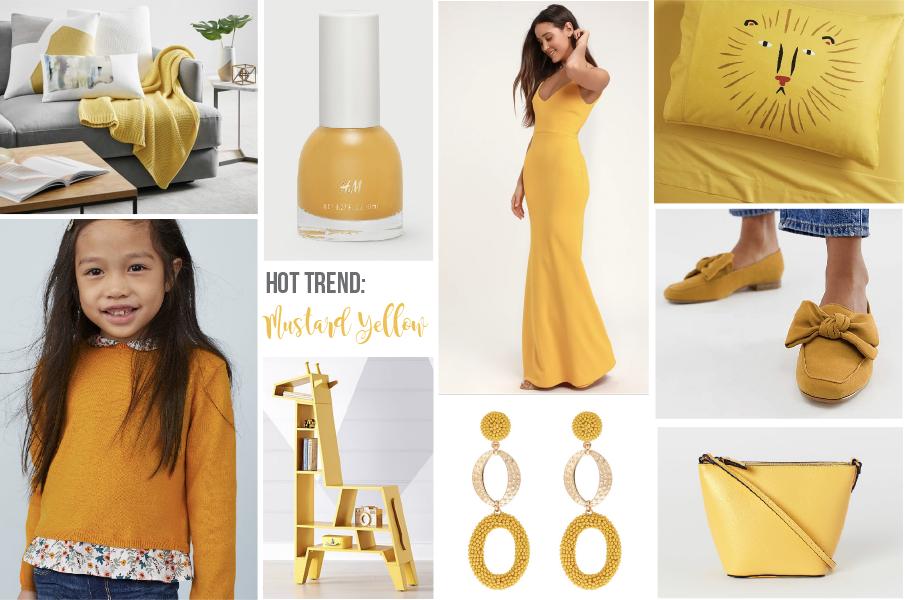 Hot Color Trend Spring / Summer 2019